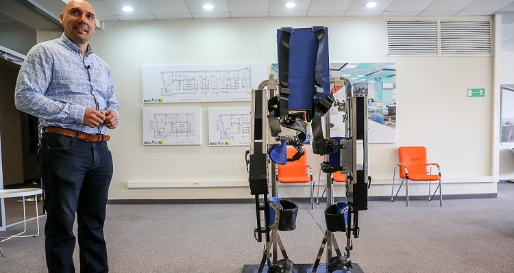 The first medical exoskeleton in the Far East was developed at the Russky Technopark in Primorsky territory