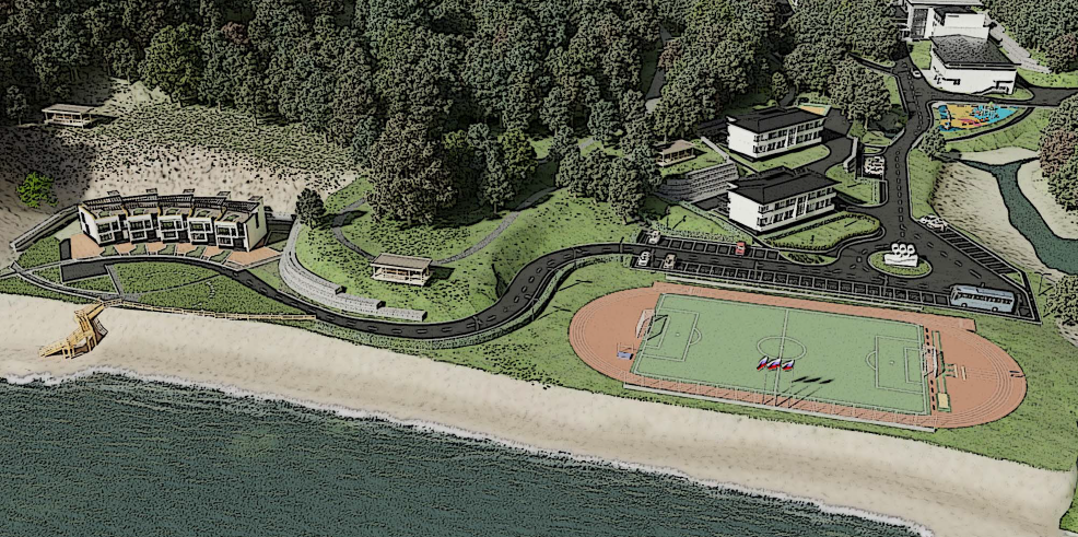 Reconstruction of the recreational center «Solnechnaya»